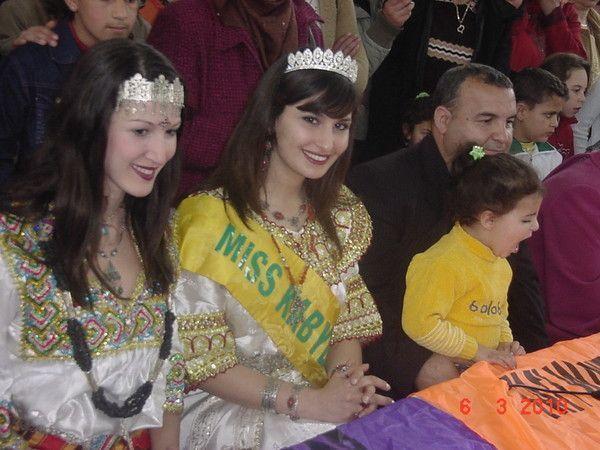 Miss kabylie 2010 au salon de la femme de tinebdar for Salon kabyle